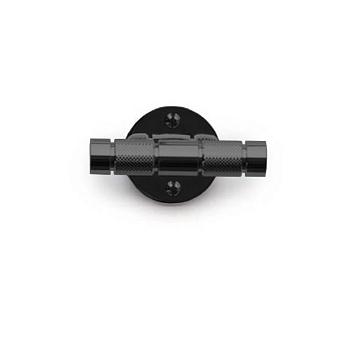 Bertocci Officina 01 крючок двойной, подвесной, цвет: черный матовый