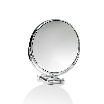Decor Walther SPT 50/X Косметическое зеркало 17см, настольное, увел. 10x, цвет: хром