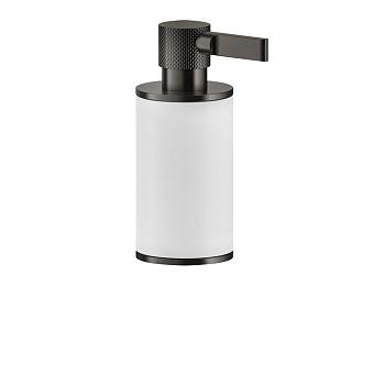 Gessi Inciso Дозатор для жидкого мыла настольный, цвет: белый/nero XL