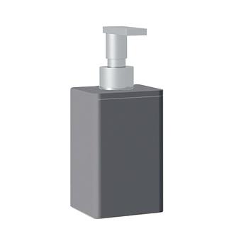 Bertocci Fly Дозатор из композита, настольный, цвет: серый/хром