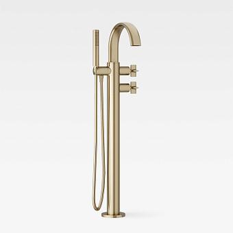 Armani Roca Baia Термостат для ванны напольный с руч. душем  и шлангом 1,7м, цвет: greige