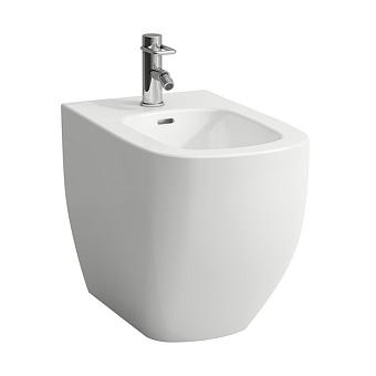 Laufen Palomba Биде напольное 560x360x430мм, с 1 отв. под смеситель, с покр. LLC, цвет: белый