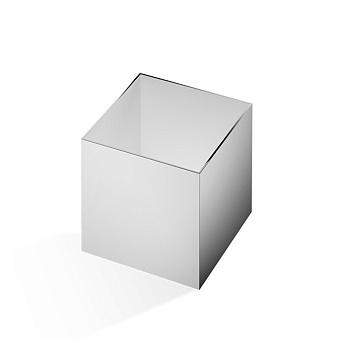 Decor Walther Cube DW 356 Баночка универсальная 13x13x14см, цвет: хром