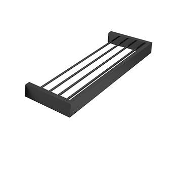3SC SK Полочка-решетка 30х12,5хh3см, цвет: черный матовый