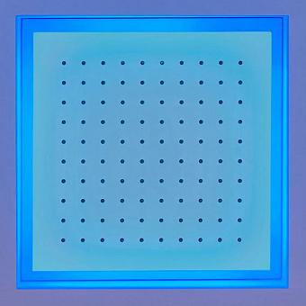 Antonio Lupi Душевая система Meteo 35x35x11 см, цвет зеркальная сталь, с подсветкой