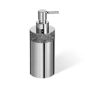Decor Walther Rocks SSP1 Дозатор для мыла, настольный, с кристаллами Swarovski, цвет: хром