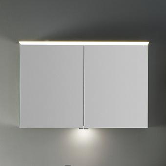 Burgbad Yumo Шкаф зеркальный 100x67.5x21 см, с подсветкой