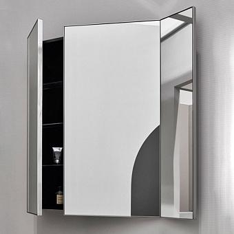 Cielo Arcadia Pan Зеркало без светодиодной подсветки, c пеналами, цвет: Matt Black