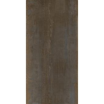 AVA Metal Керамогранит 120х60см, универсальная, натуральный ректифицированный, цвет: corten