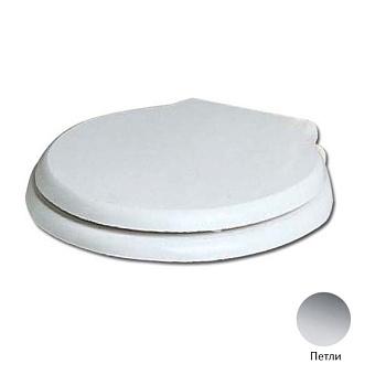 AZZURRA Giunone-Jubilaeum Сиденье для унитаза, цвет: белый/хром