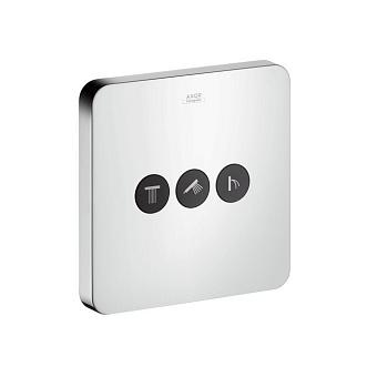 Axor ShowerSelect Запорно-переключающее устройство на 3 потребителя, цвет: хром