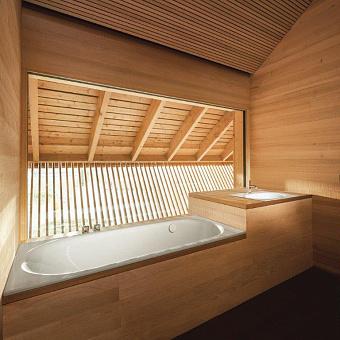 BETTE Comodo Ванна 190х90х45 см, с шумоизоляцией, BetteGlasur® Plus, антислип, цвет: белый
