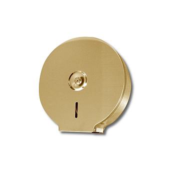3SC Hotel Держатель большого рулона тб, с ключом, цвет: золото 24к. Lucido