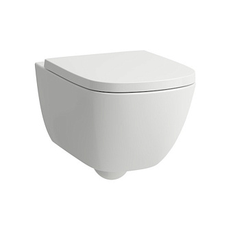 Laufen Palomba Унитаз подвесной 54х36х26.5см., безободковый смыв Rimless, покрытие LCC, цвет белый
