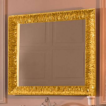 KERASAN Retro Зеркало 100x100см, цвет золото