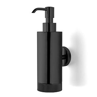 3SC Ribbon Дозатор для жидкого мыла, подвесной, цвет: черный матовый
