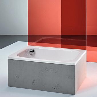 BETTE Delta Душевой поддон квадратный 90х90хh2,8 см, D52 мм, цвет белый