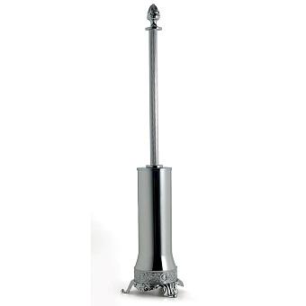 3SC Bally Туалетный ёршик напольный, ручка Queen, цвет: хром