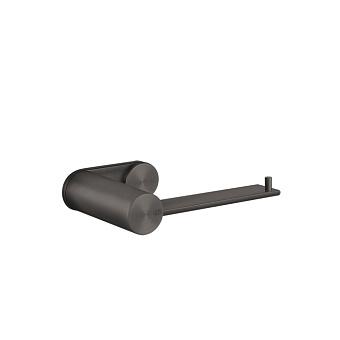Gessi 316 Держатель для туалетной бумаги вертикальный или горизонтальный, цвет: brushed black metal pvd
