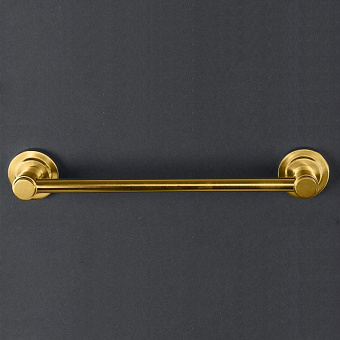 Cristal et Bronze Alliance Полотенцедержатель 30 см, матовое золото
