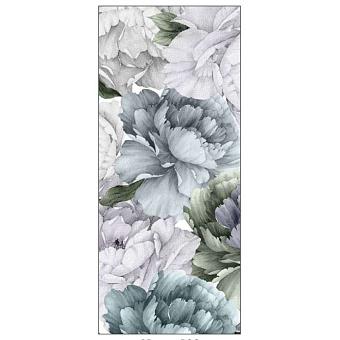 Ornamenta Operae Керамическая плитка 120х278см, настенная, декор: Rose Garden Cold