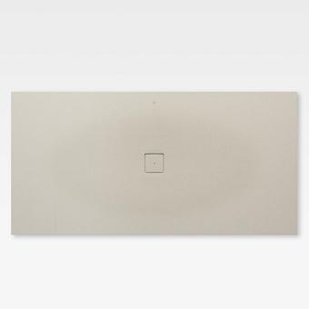 Armani Roca Baia Душевой поддон 200х100х3.2см с центральным сливом, с anti-slip, мат-л: Stonex, цвет: greige