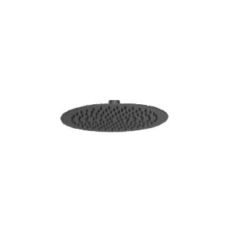 Webert Comfort Верхний душ диаметр 300 мм, латунь, цвет: черный