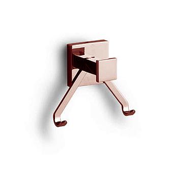 Bertocci Settecento Крючок двойной, цвет: розовое золото