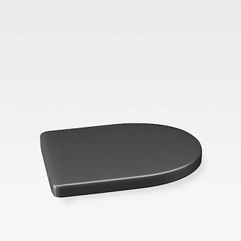 Armani Roca Island Сиденье для биде, с микролифтом, лакированное, цвет: nero