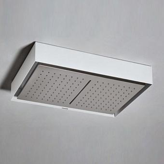 Antonio Lupi Fuorimeteo Внешний верхний душ, 52х36см, цвет: белый/зеркальная сталь