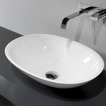 Antonio Lupi Servo Раковина накладная 63х45см, цвет: белый