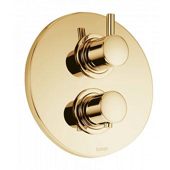 Встраиваемый термостатический смеситель для душа Bongio T Mix, цвет: золото