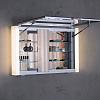 Keuco Royal Metropol Зеркальный шкаф с подсветкой 800х610х155 мм