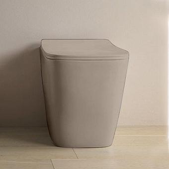 Artceram A16 Унитаз напольный, 52,5х36см, безободковый, слив универсальный, с крепежом, цвет: matera