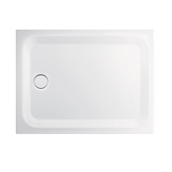 BETTE Душевой поддон прямоугольный суперплосский 120х90хh3,5см, D=90 мм, цвет: белый