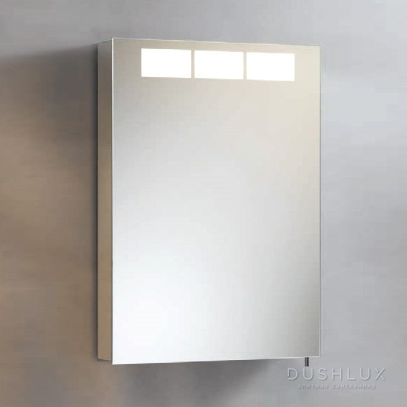 Keuco Royal T1 Зеркальный шкаф с подсветкой 505х700х143 мм, петли справа