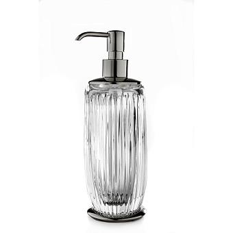 3SC Elegance Дозатор настольный, цвет: прозрачный хрусталь/хром