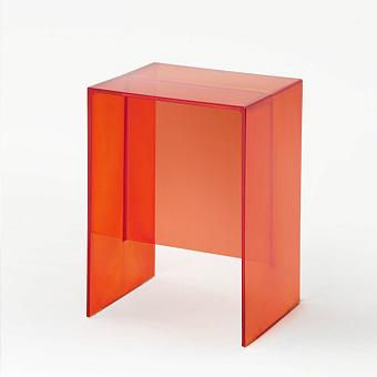 Laufen Kartell Табурет, 330х280х465мм, пластик, цвет: оранжевый