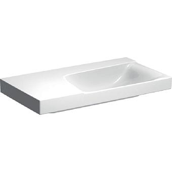 Geberit Xeno² Раковина с полкой, 90х48см, без отв., подвесная, цвет: белый