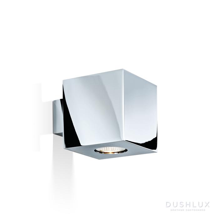 Decor Walther Cubo Светильник для зеркала 10x12x10см, 1x GU10 max. 50W, цвет: хром