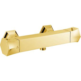 CISAL Cherie Термостатический смеситель настенный для душа, цвет золото