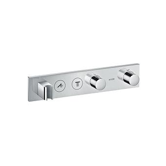 Axor Встраиваемый термостат для душа, 2 потреб, Select 460/90, (внешняя часть), цвет: хром