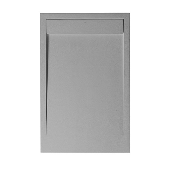 Noken Zen Душевой поддон 140x80см, Light Stone, цвет: серый
