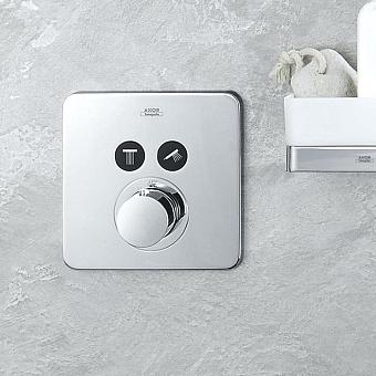 Axor ShowerSelect Термостат ShowerSelect S, для 2 потребителей, СМ, цвет: хром