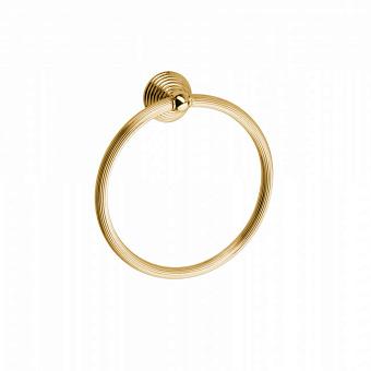 Полотенцедержатель-кольцо Bongio Impero, подвесной монтаж, цвет: золото 24к.