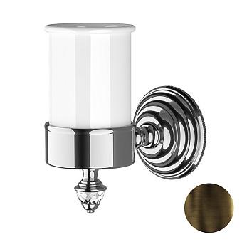 Devon&Devon Diamond Стакан подвесной, белая керамика, цвет: бронза