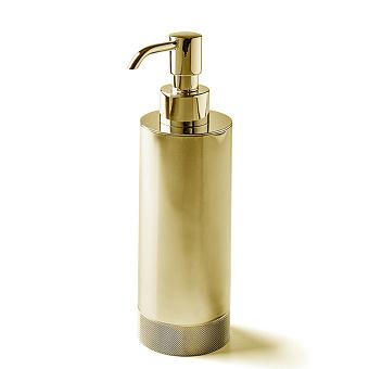 3SC Ribbon Дозатор для жидкого мыла, настольный, цвет: золото 24к. Lucido