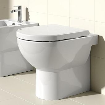 Catalano Sfera Унитаз приставной 54х35 см, с крепежом и сиденьем, цвет: белый