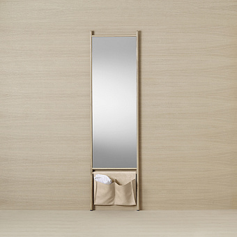 Burgbad Mya Зеркало напольное 53x195 см, дуб натуральный