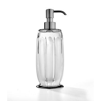 3SC Montblanc Дозатор для жидкого мыла, цвет: прозрачный хрусталь/хром